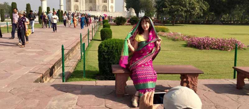 Season to Visit Taj