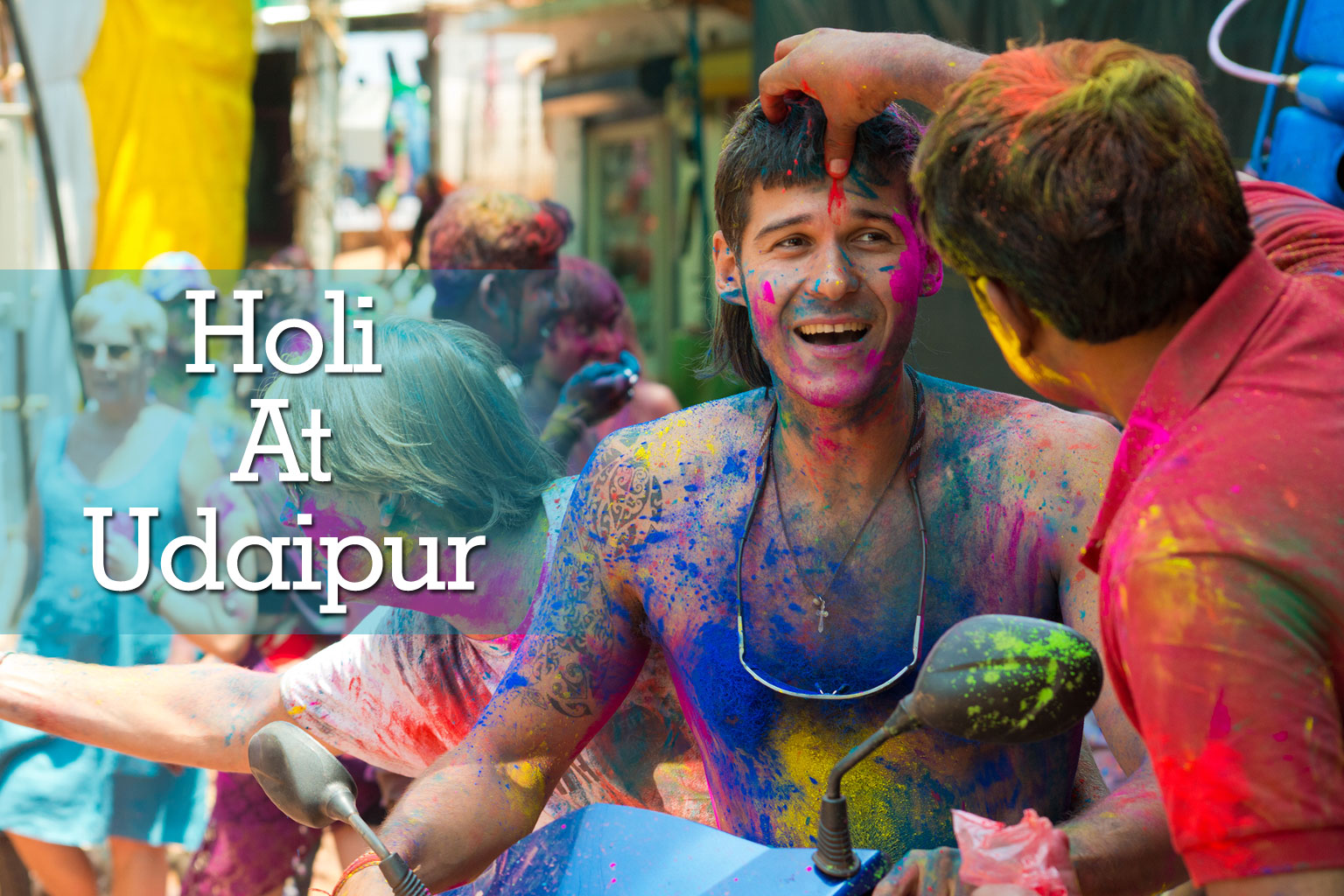 Grand Holi at Udaipur