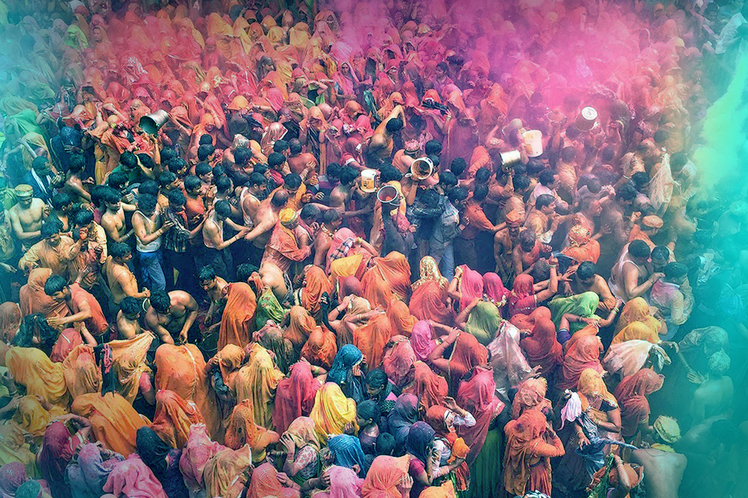 Holi at Mathura & Vrindavan