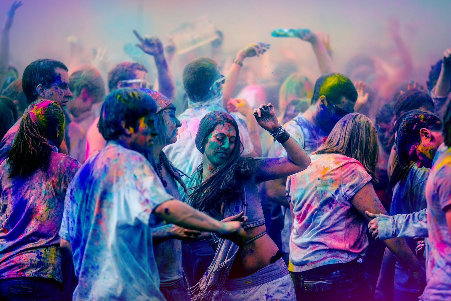 Musical Holi at Delhi